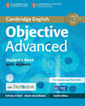 Objective Advanced, Fourth Edition: Student's Book with answers, with CD-ROM and Testbank