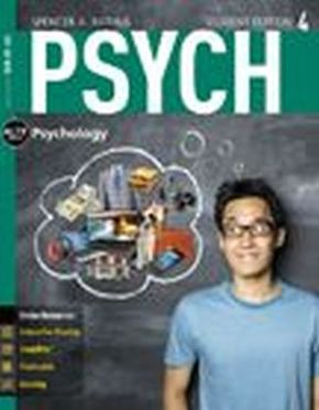 PSYCH4  (with Online, 1 term (6 months) Printed Access Card), m. Buch, m. Online-Zugang