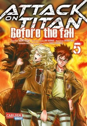 Attack on Titan - Before the Fall - Bd.5