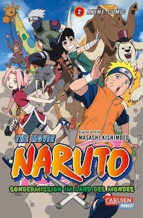 Naruto the Movie: Sondermission im Land des Mondes - Bd.2