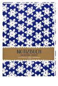 Notizbuch - All about blue (Blumen)