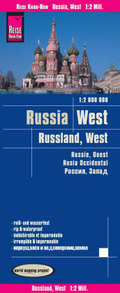 World Mapping Project Reise Know-How Landkarte Russland West (1:2.000.000); West Russia / Russie, ouest / Rusia occident