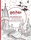 Harry Potter - Magical Places and Characters Colouring Book