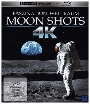Moon Shots 4K, 1 UHD-Blu-ray + 1 Blu-ray