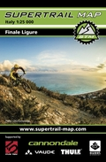 Supertrail Map Finale Ligure