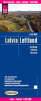 World Mapping Project Reise Know-How Landkarte Lettland (1:325.000); Latvia / Lettonie / Letonia