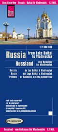 World Mapping Project Reise Know-How Landkarte Russland - vom Baikalsee bis Wladiwostok (1:2.000.000); Russia, From Lake