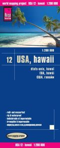 World Mapping Project Reise Know-How Landkarte USA 12, Hawaii (1:200.000)