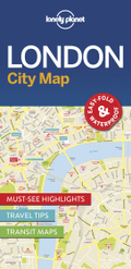 Lonely Planet City Map London
