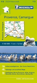Michelin Karte Provence - Camargue