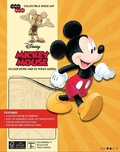 IncrediBuilds: Walt Disney: Mickey Mouse Deluxe Book and Model Set