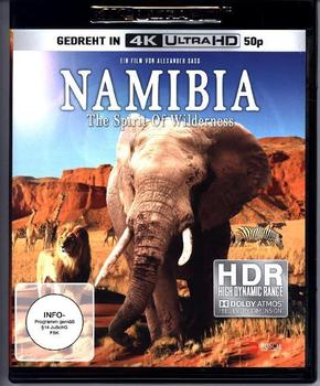 Namibia - The Spirit of Wilderness 4K, 1 UHD-Blu-ray