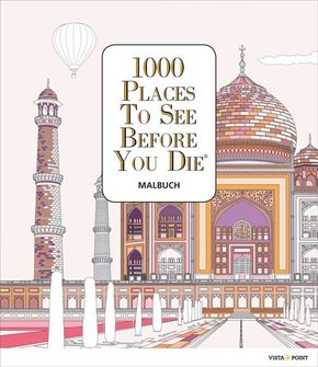 1000 Places To See Before You Die - Malbuch