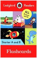 Ladybird Readers Starter A and B Level Flashcards