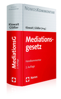 Mediationsgesetz (MediationsG), Kommentar