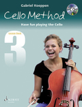 Cello Method, Lesson Book, w. Audio-CD - Book.3