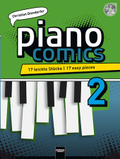 piano comics, m. Audio-CD - Bd.2