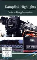 Dampflok Highlights - Deutsche Dampflokomotiven, 1 DVD