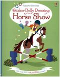 Sticker Dolly Dressing Horse Show