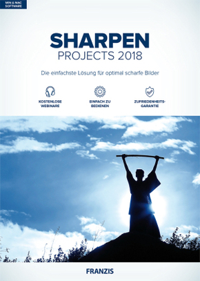 Sharpen projects 2018, 1 CD-ROM