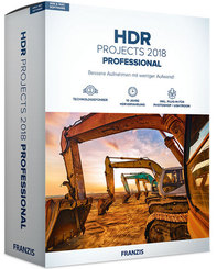 HDR projects 2018 professional (Win & Mac), 1 CD-ROM