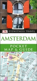 DK Eyewitness Travel Amsterdam Pocket Map and Guide