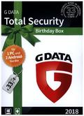 G-Data Total Security 2018 1+2, 1 CD-ROM