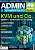Admin-Magazin 5-2012: KVM & Co., Windows, Btrfs, Rex und mehr