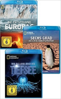 Blu-ray Paket: National Geographic Naturdokumentationen (3 Blu-rays)