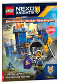 LEGO® NEXO KNIGHTS™ - Ein Monster-Sticker-Rätselspaß, mit Sticker &  Poster