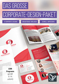 Das große Corporate-Design-Paket: Briefpapier, Visitenkarten, Flyer (DOWNLOAD)