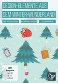 Vektorbasierte Design-Elemente aus dem Winter-Wunderland (DOWNLOAD)