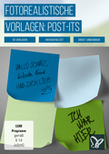 Post-its und Klebezettel: fotorealistische Vorlagen (DOWNLOAD)