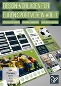 Design-Vorlagen für euren Sportverein - Komplettausstattung Vol. 1 (DOWNLOAD)