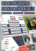 Design-Vorlagen für euren Sportverein - Komplettausstattung Vol. 2 (DOWNLOAD)