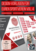 Design-Vorlagen für euren Sportverein - Komplettausstattung Vol. 4 (DOWNLOAD)