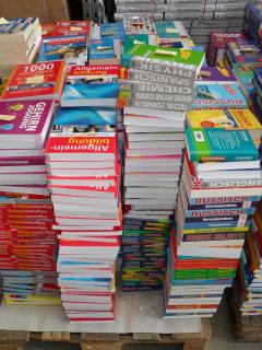 Überraschungspaket mit zehn Sachbüchern
