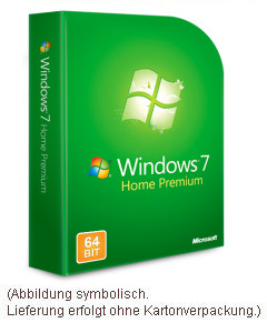 windows 7 home premium 64bit vollversion windows 7 buch. Black Bedroom Furniture Sets. Home Design Ideas