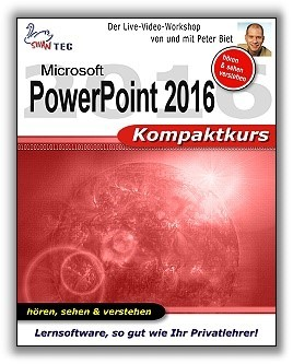 PowerPoint 2016 - Kompaktkurs (DOWNLOAD)