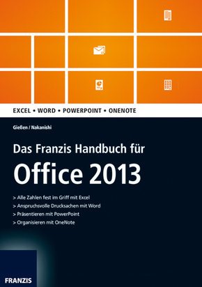 office 2013 das franzis handbuch vollversion g data internetsecurity 2013. Black Bedroom Furniture Sets. Home Design Ideas