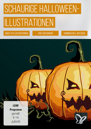 Schaurig-schöne Illustrationen für Halloween (DOWNLOAD)