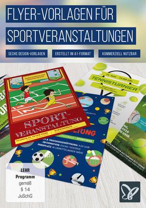 Flyer-Vorlagen für Sportveranstaltungen (DOWNLOAD) - terrashop.de