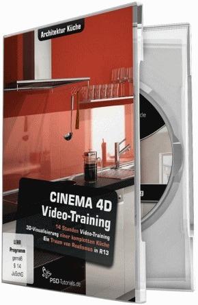 Cinema 4d video training architektur k che for Cinema 4d architektur