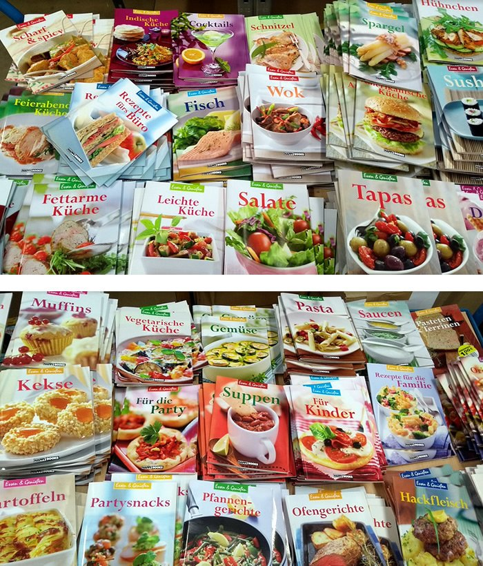 Kochbuch Hefte