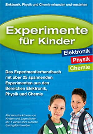 lernpaket experimente f r kinder elektronik physik. Black Bedroom Furniture Sets. Home Design Ideas