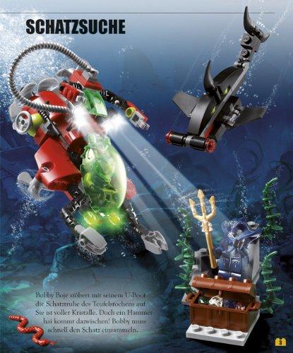 Lego Buch Steine Set Atlantis Mit über 140 Elementen Und 2