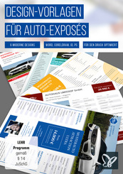 Design-Vorlagen für Auto-Exposés (DOWNLOAD)